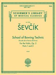 School of Bowing Technics, Op. 2, Parts 1 & 2