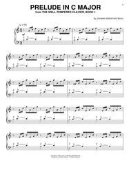 Download Prelude In C Major Sheet Music By Johann Sebastian Bach