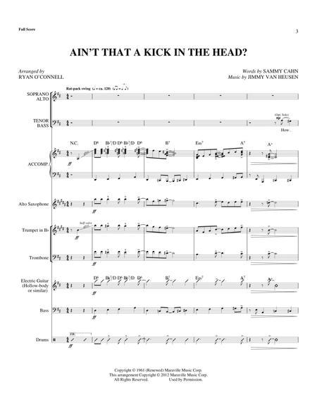 Ain't That A Kick In The Head? - Full Score