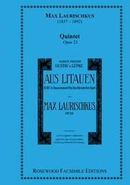 Lithuanian Quintet, Op. 23
