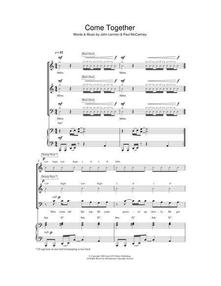 Come Together (arr. Jeremy Birchall)