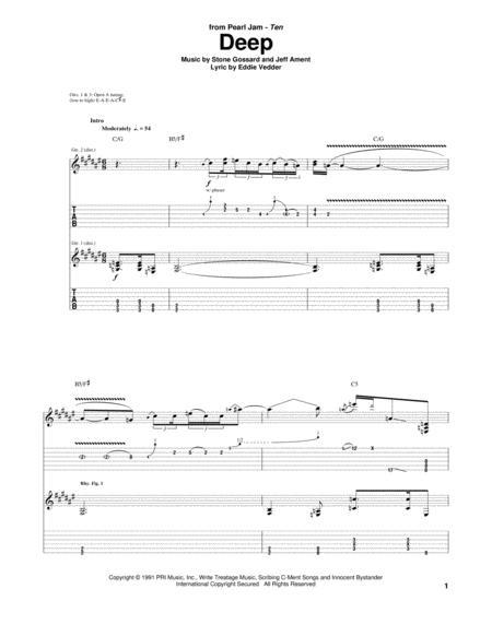 Pearl Jam Black Guitar Chords Gallery - guitar chords finger placement