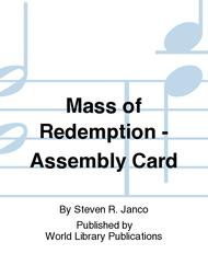 Mass of Redemption - Assembly Card