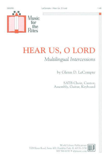 Hear Us, O Lord
