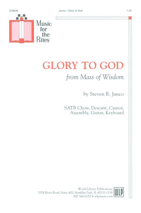 Glory to God (from Mass of Wisdom)