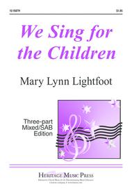 We Sing for the Children