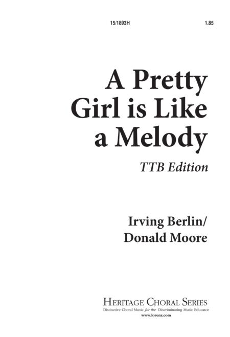A Pretty Girl is Like a Melody