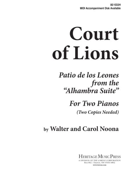 Court of Lions - Piano Duet