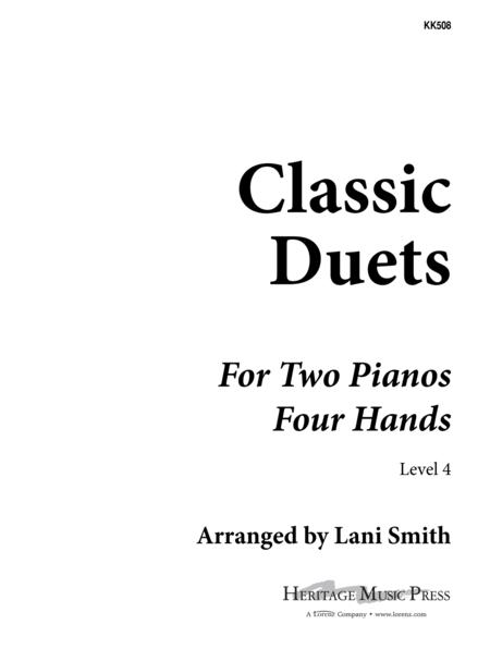 Classic Duets for Two Pianos - Level 4