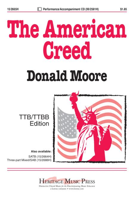 The American Creed