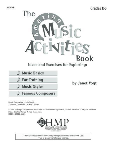 The Amazing Music Activities Book