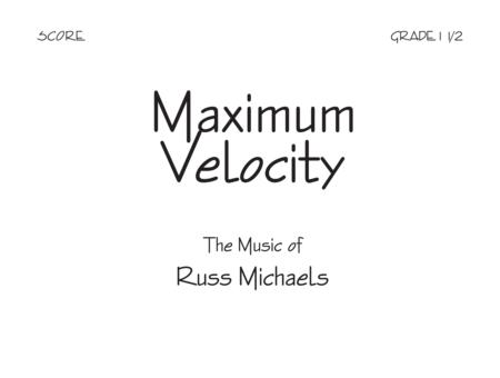 Maximum Velocity - Score