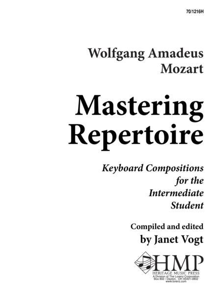 Mastering Repertoire: Mozart