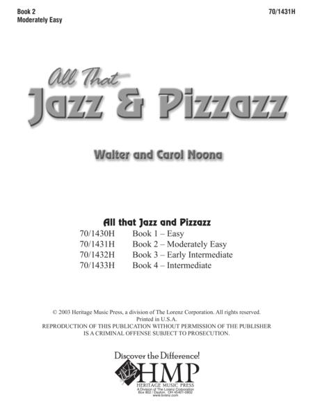 All That Jazz and Pizzazz - Book 2