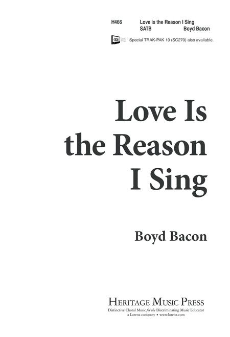 Love is the Reason I Sing