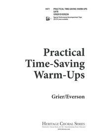 Practical Time-Saving Warm-Ups
