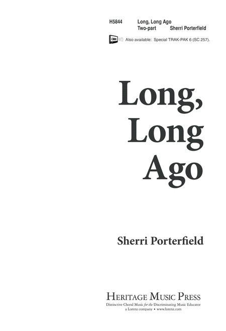 Long, Long Ago