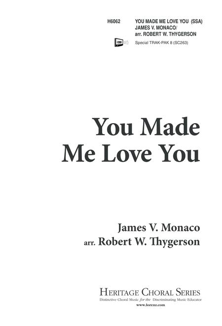 You Made Me Love You