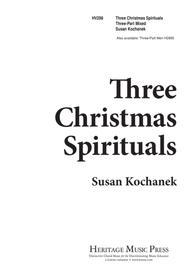 Three Christmas Spirituals