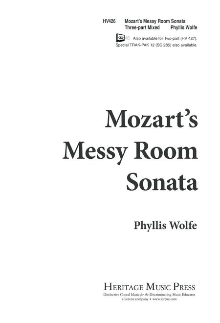 Mozart's Messy Room Sonata