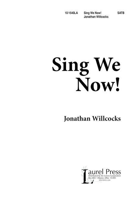 Sing We Now