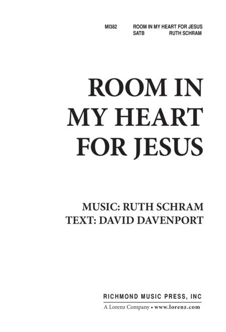 Room in My Heart for Jesus