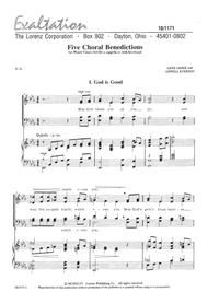 Five Choral Benedictions
