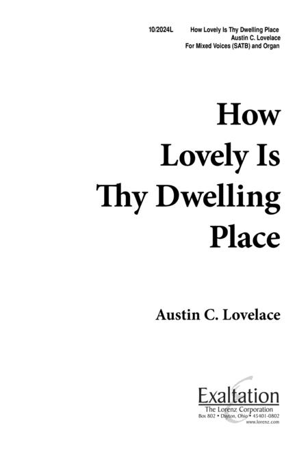 How Lovely Is Thy Dwelling Place