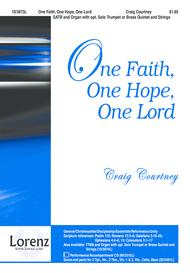 One Faith, One Hope, One Lord