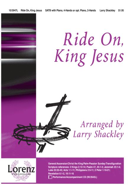 Ride On, King Jesus