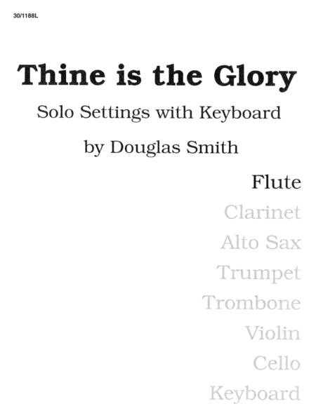 Thine Is the Glory - Flute