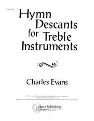 Hymn Descants for Treble Instruments