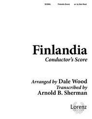 Finlandia - Brass and Percussion Score and Parts