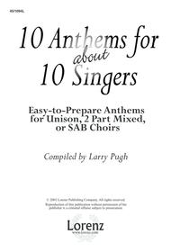 10 Anthems for about 10 Singers