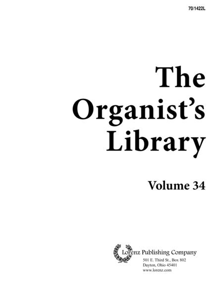 The Organist's Library, Vol. 34