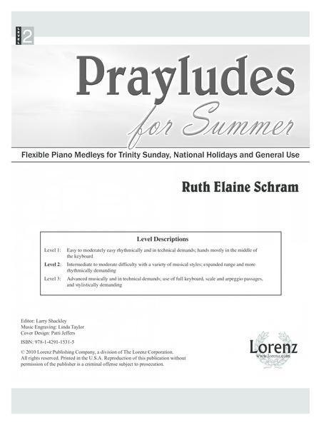 Prayludes for Summer