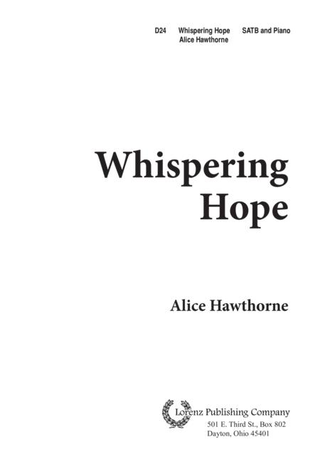 Whispering Hope
