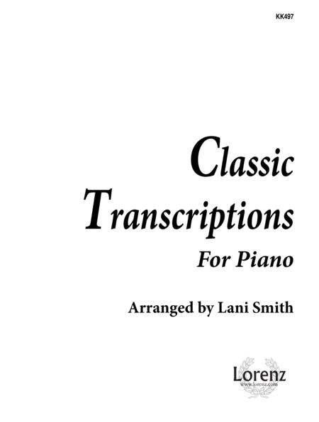 Classic Transcriptions for Piano