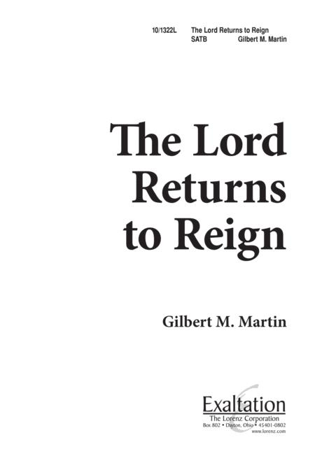 The Lord Returns to Reign