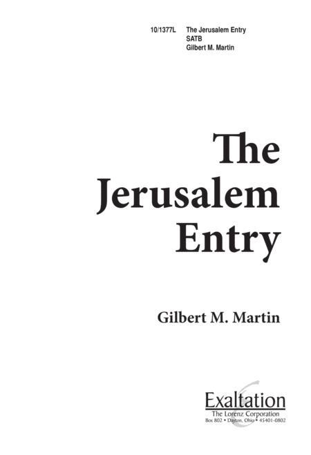 The Jerusalem Entry