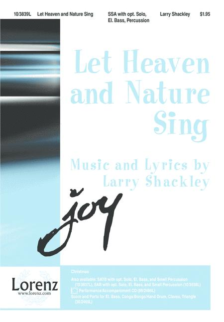 Let Heaven and Nature Sing