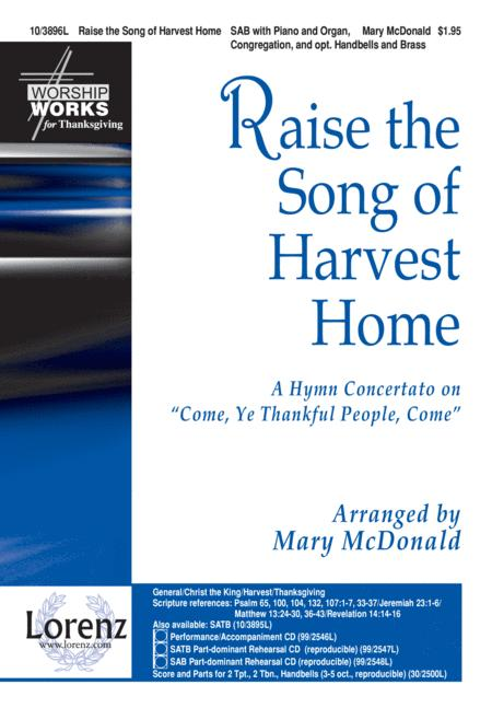 Raise the Song of Harvest Home