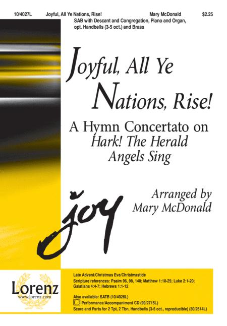 Joyful, All Ye Nations, Rise!