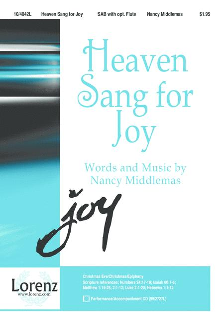 Heaven Sang for Joy