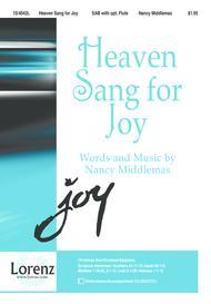 Heaven Sang for Joy