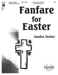 Fanfare for Easter - Handbell/Organ Score