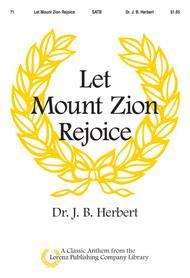 Let Mount Zion Rejoice