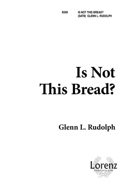 Is Not This Bread?
