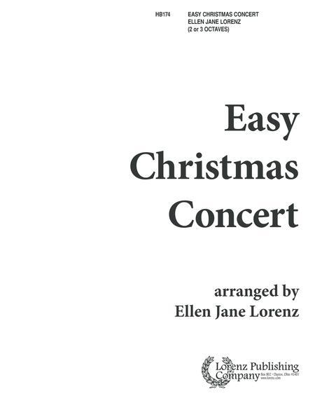 Easy Christmas Concert