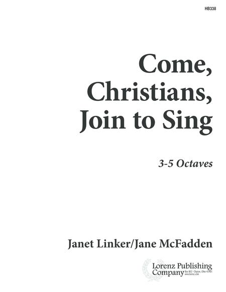 Come, Christians, Join to Sing - HB part